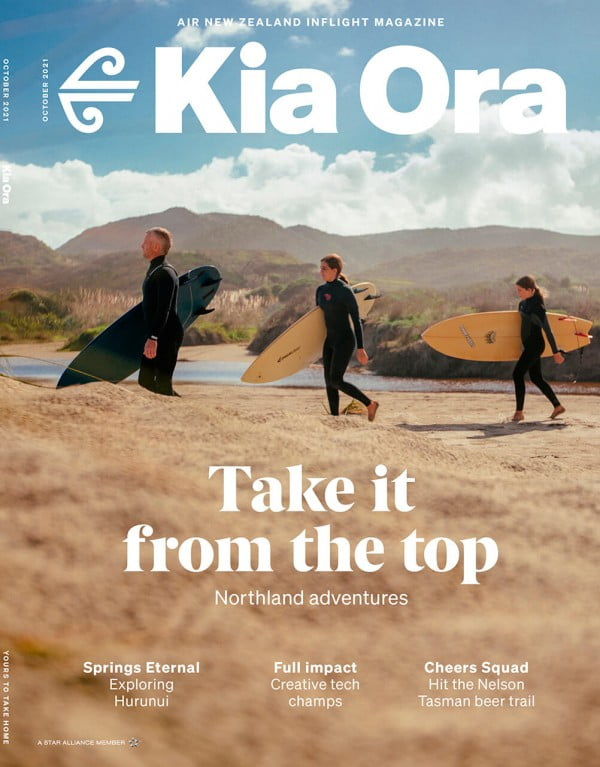 Kia Ora Magazine October Cover Image