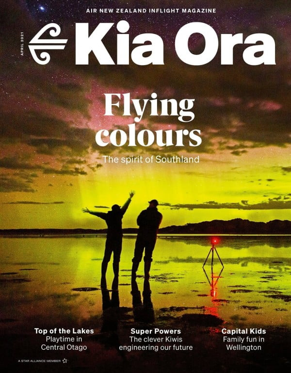 Kia Ora Magazine April Edition, Air New Zealand