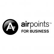 Air New Zealand Airpoints for Business logo.