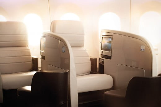 Air New Zealand Boeing 787-9 Business Premier™ seats.