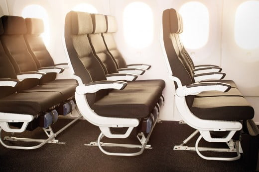Air New Zealand Boeing 787-9 Economy seats.