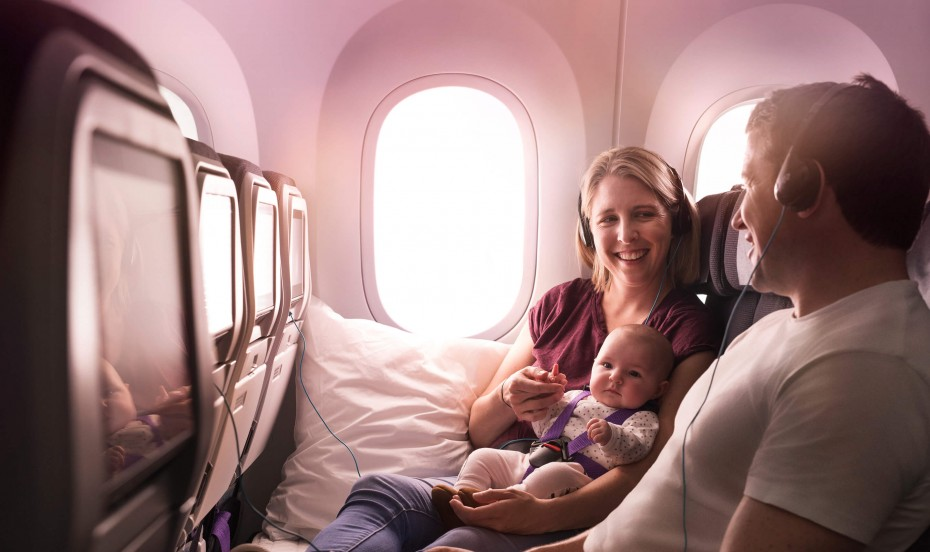 Air New Zealand 787-9 Economy Skycouch™.