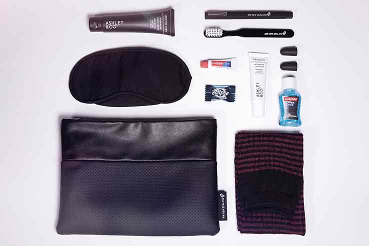 Air New Zealand Business Premier™ amenity kit.