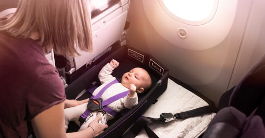 Flying with children – Air New Zealand