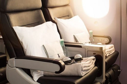 Premium Economy is available on Air New Zealand operated Boeing 777 and 787-9 Dreamliner operated Tasman and Island services.