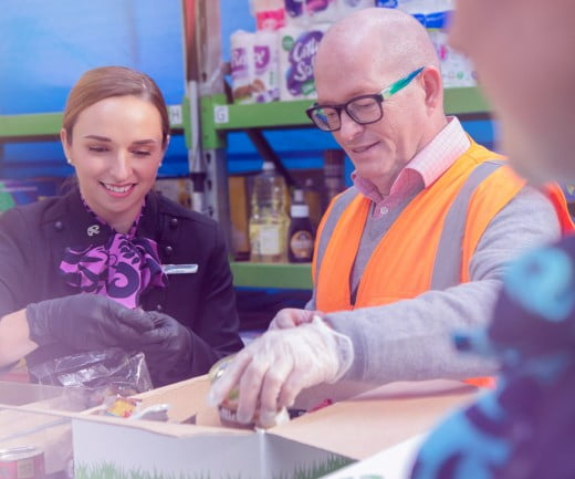 Air NZ supports Mangere Food Bank