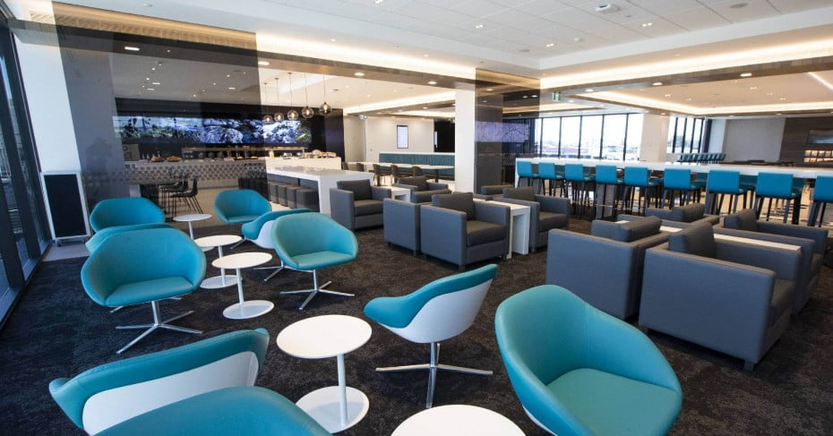 Air NZ Auckland Regional Lounge at Auckland Airport