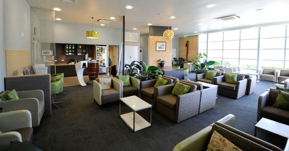 Air New Zealand Rarotonga International Lounge.