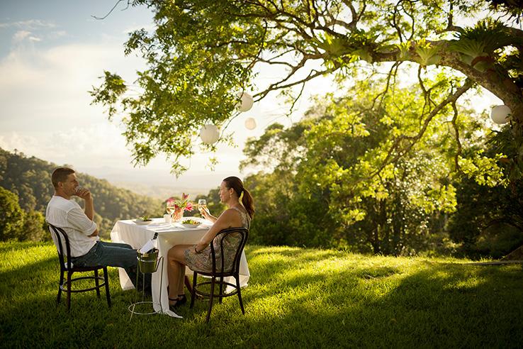 Spicers Clovelly Estate, Montville, Sunshine Coast, Australia.