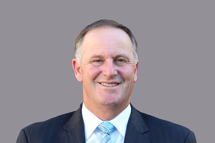 Air NZ board member Sir John Key.