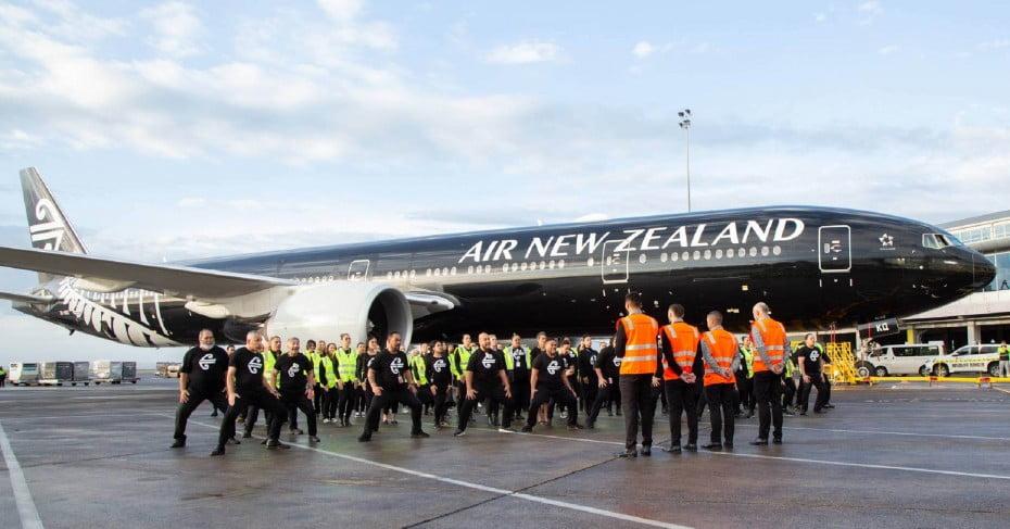 Haka at Auckland International Airport