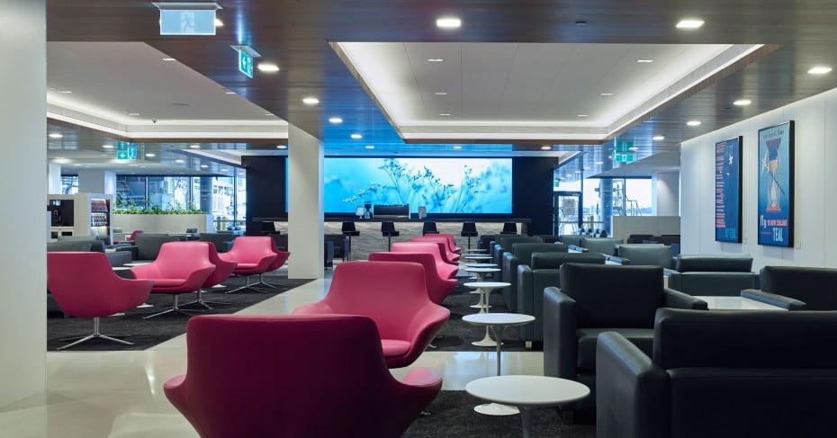 Air New Zealand International Lounge.