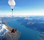新西蘭4大人氣高空跳傘點
