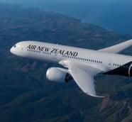 787‐9型機で快適な空の旅