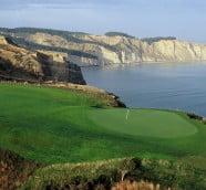 ニュージーランドでゴルフ