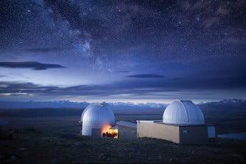 ニュージーランドで感動体験、満天の星空 - テカポ