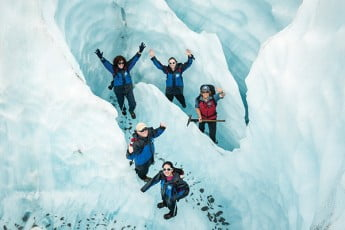 南島  秋のおすすめコース 5日間 - フランツジョセフ氷河