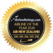 Airline of the Year 2020 by Airlineratings.com