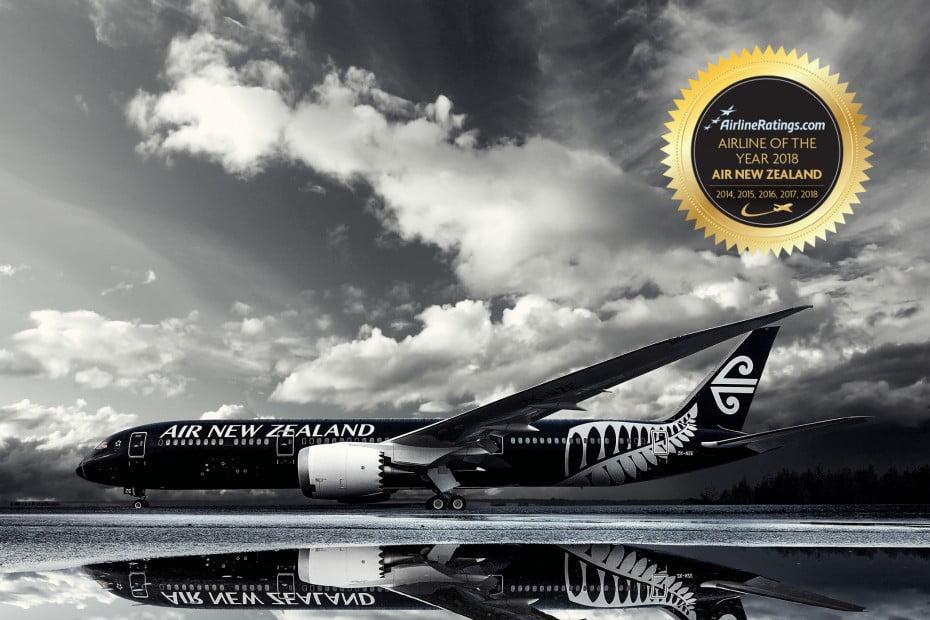 ニュージーランドで大人旅 第3回 -おかげさまで「エアライン・オブ・ザ・イヤー 2018」を受賞