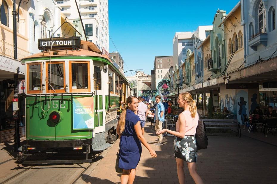 南島最大の街、クライストチャーチ(Christchurch)へ - トラム