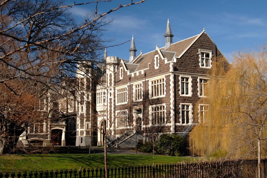 文化も自然も満喫、ダニーデン(Dunedin)へ - オタゴ大学