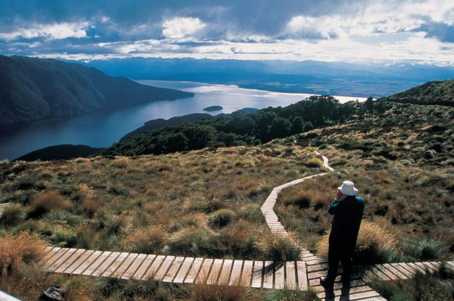 ニュージーランドでトレッキング - ケプラー・トラック
