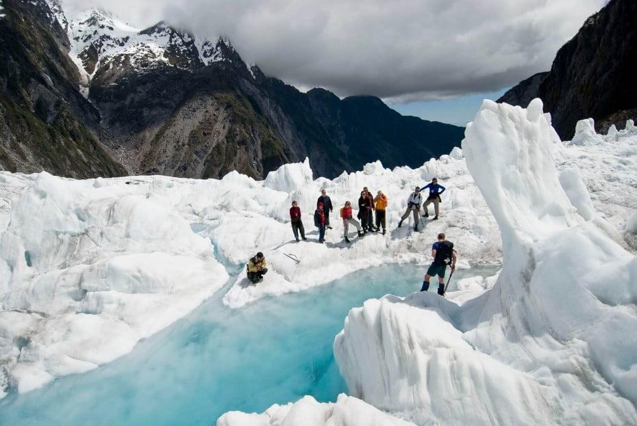 ニュージーランドの主な世界遺産 - フランツ・ジョセフ氷河