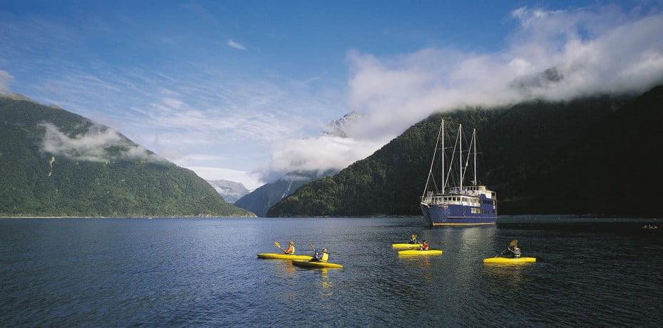 ニュージーランドの主な世界遺産 - ミルフォード・サウンド