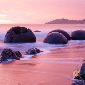 文化も自然も満喫、ダニーデン(Dunedin)へ - モエラキ・ボルダーズ
