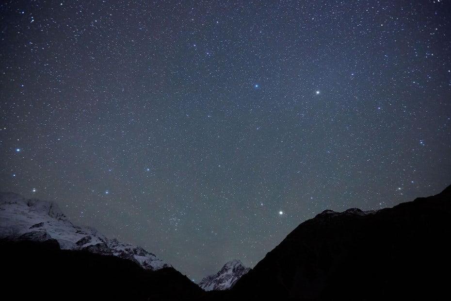 ニュージーランドで感動体験、満天の星空 - マウントクック