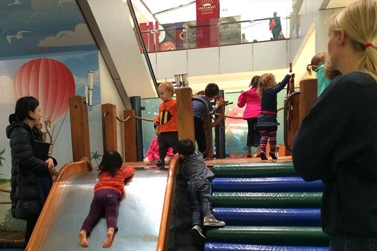 ニュージーランドで親子旅行 - ショッピングモールも子連れに優しいニュージーランド