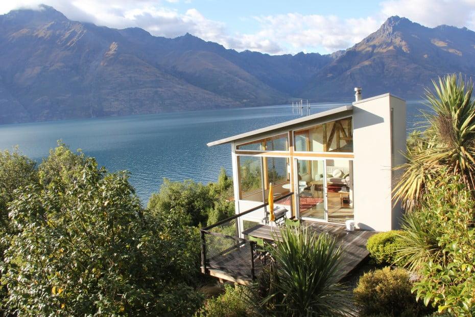 ニュージーランドのユニークな宿に泊まる - ホリデーホーム(貸別荘) - クイーンズタウン(Queenstown)