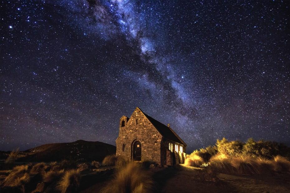 はるかなる大自然への旅 - 星空観測 - テカポ