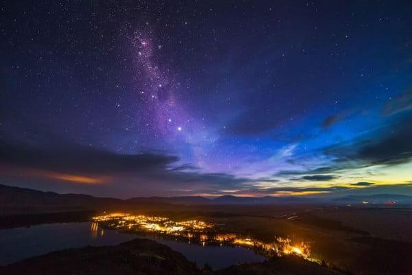 ニュージーランドで感動体験、満天の星空 -テカポ