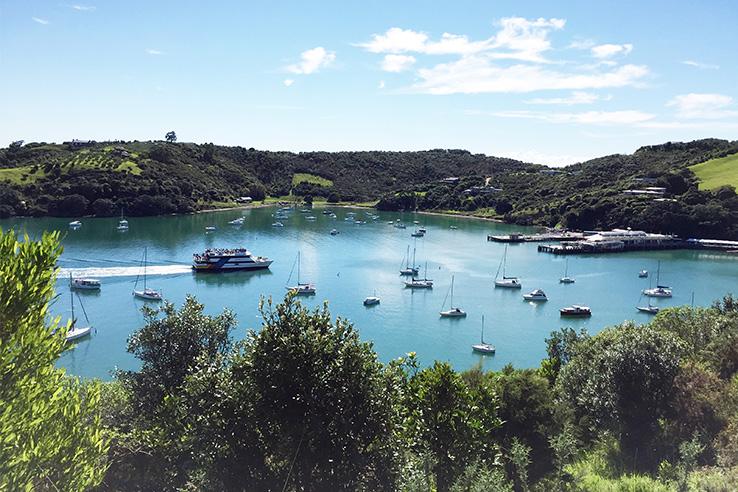 ニュージーランドで大人旅 第3回 - 賢く旅するワイヘキ島