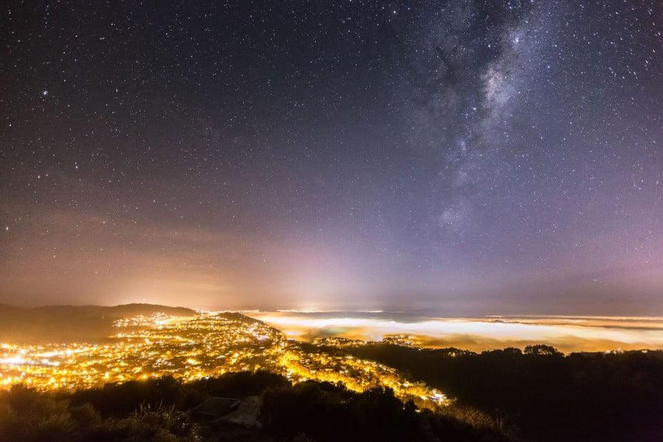 ニュージーランドで感動体験、満天の星空 - ウエリントン