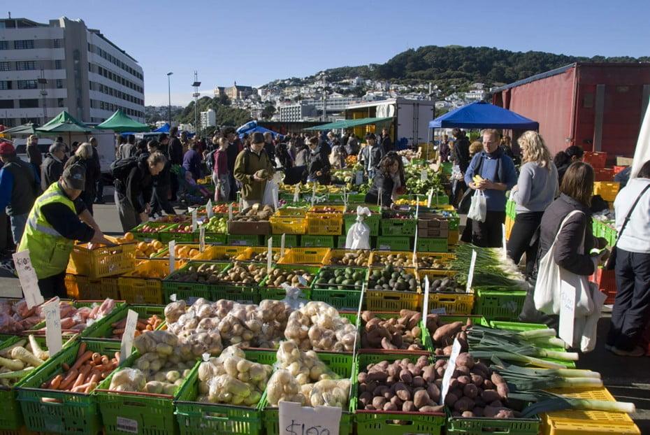 魅力あふれる街・ウエリントン(Wellington)へ - マーケット