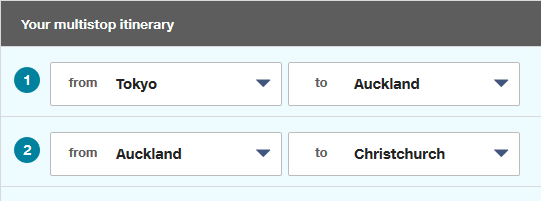 How to Conveniently Select Connecting Flights - Booking