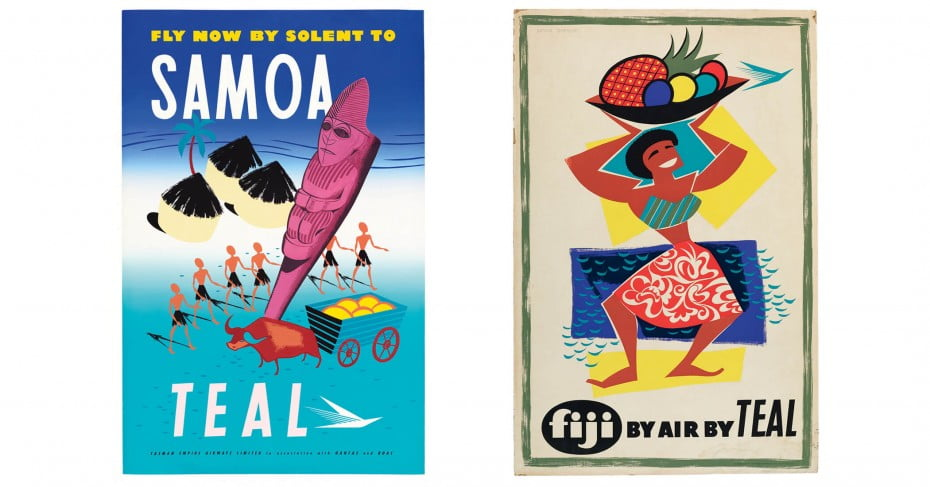 1950s Pacific-flavoured advertising.