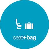 Seat+Bag icon.