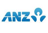 ANZ logo.