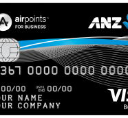 ANZ Visa Business Airpoints