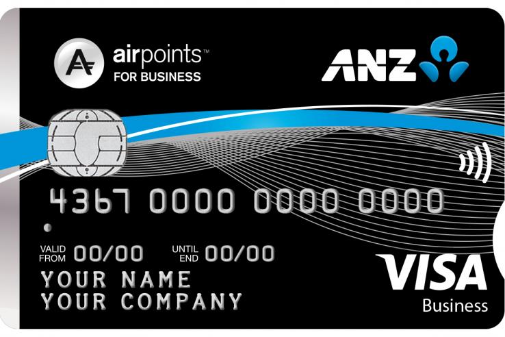 ANZ Visa Business card