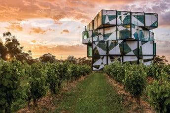 d'Arenberg Cube, Adelaide, Australia.