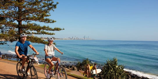 Burleigh Heads, Gold Coast, Australia.