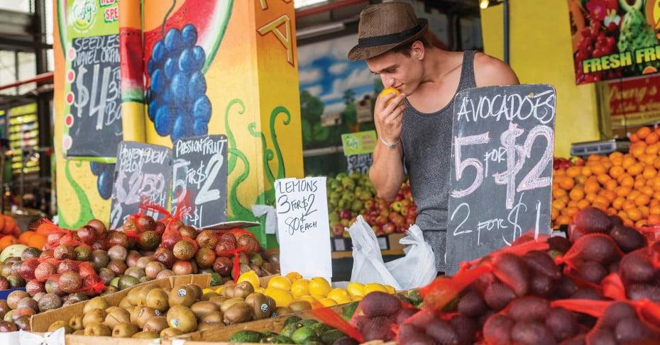 Rusty's markets, Cairns, Australia.