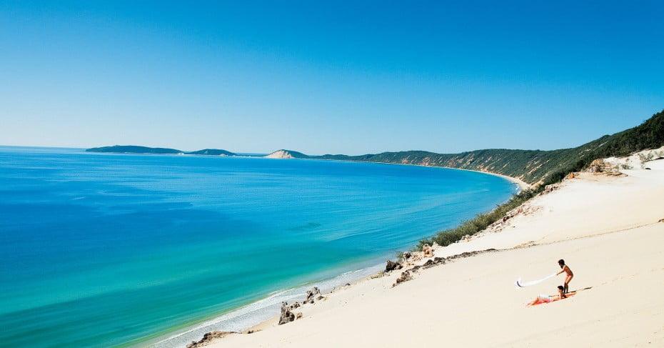 Carlo Sand Blow, Sunshine Coast, Australia.