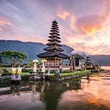 Pura Ulun Bratan, Bali, Indonesia