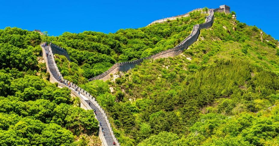 The Great Wall, Badaling, Beijing, China.