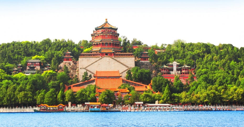 Imperial Summer Palace, Beijing, China.